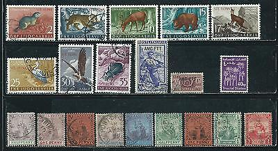 Trieste-Trinidad-Trucial States - 20 old stamps mixed - Years 1896 to 1961...