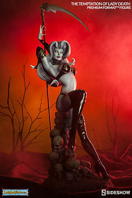 Sideshow The Temptation of Lady Death Premium Format Figure Statue MISB In Stock