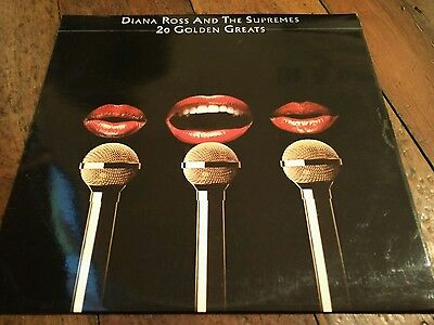 Diana Ross and the Supremes 20 Golden Greats Vinyl