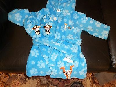 Disney baby dressing Gown & Slippers
