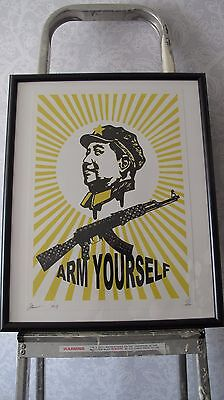 Arm Yourself, Mao Zedong, Death NYC, Signed & Numbered, Limited Edition, Framed