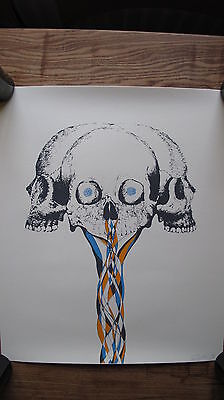 Paul Urich Gone But Not Forgotten Signed & Numbered Limited Edition Screen Print