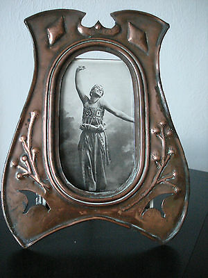 Exquisite  Rare, Original Secessionist, Art Nouveau, Arts & Crafts  Photo Frame