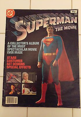 Superman The Movie Collector's Edition (DC Comics) – 1979 – Acceptable/Good