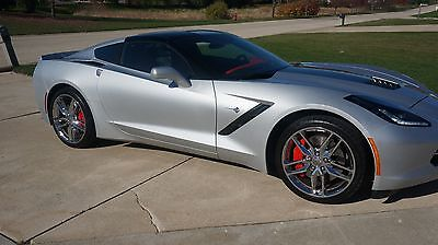 2015 Chevrolet Corvette 3LT 2015 Chevrolet Corvette Z51 Stingray 3LT