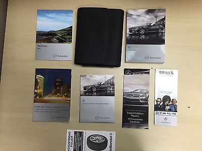 Mercedes Benz SL 2013  Owners Manual Books / / In Case  Free  Shipping