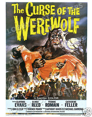 The Curse Of The Werewolf Lobby Card Poster Os 1961
