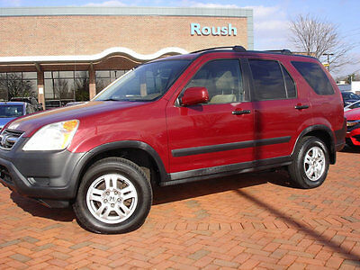 2002 Honda CR-V 4WD EX Automatic NO RESERVE! CLEAN! NEEDS TRANSMISSION+MORE