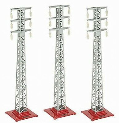 MTH Tinplate 10-1043 High Tension Tower Set No 94 Set Of 3 Standard Gauge Trains