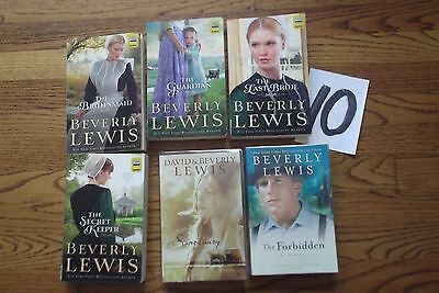 Beverly Lewis lot 6 Christian Amish Novel Books Home to Hickory Hollow Santuary