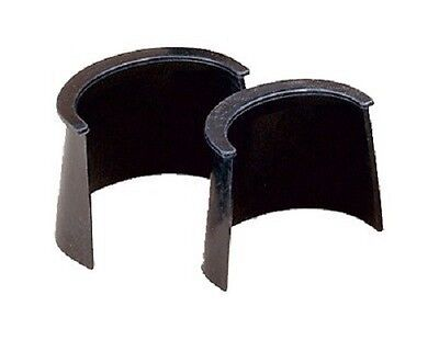 """Rubber Pool Table Pocket Liners 4""""  Set of 6"""