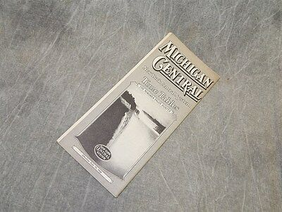 July 1936 Michigan Central (New York Central) Timetable Time Table