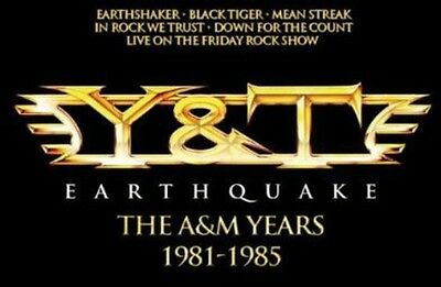 Y&T - Earthquake: A&M Years [New CD] Holland - Import