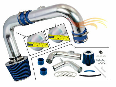 BCP BLUE 11-15 Chevy Cruze 1.4L DOHC Turbo Cold Air Intake System +Filter