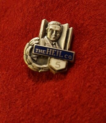 The Heil Company Trucks Front Loaders 5 Year Service sterling  Pin OLD
