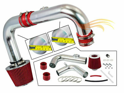 BCP RED 11-15 Chevy Cruze 1.4L DOHC Turbo Cold Air Intake System +Filter