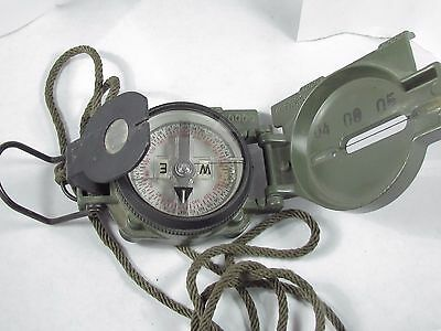 CAMMENGA Model 3H Magnetic US MILITARY Compass very good used