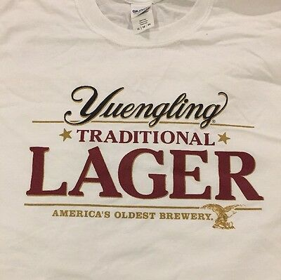 New Yuengling Lager Brewery Beer White Eagle T Shirt Mens Extra Large XL