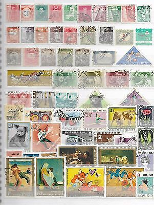 Hungary Magyar Posta Stamps Collection 4290916