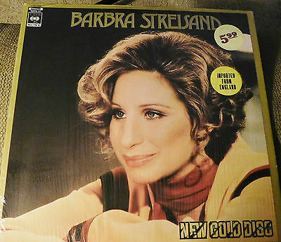 Barbra Streisand New Gold Disc Lp From England Hits Collection