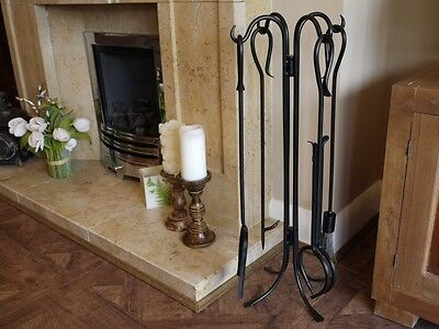 Fireplace Companion Set Tools Log Burner  Fire Tools Accessories
