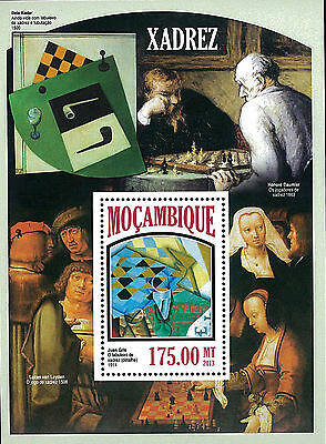 Mozambique 2013 Stamp, MOZ13053B Chess, Sport, Game, Toy
