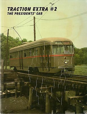 Traction Extra #2 PCC Streetcar Trolley Tram Elevated Subway Railroad World Book