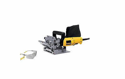 DeWalt DW682K-LX Biscuit Jointer 600w - 110V + Contrator Pro Glasses + 2 Pencils