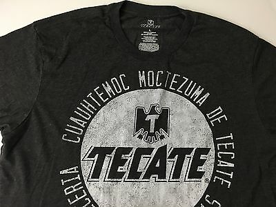 Tecate Beer Gray Cotton T-Shirt MENS LARGE