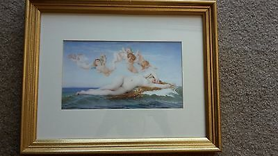 Framed print of Venus with Cherubs