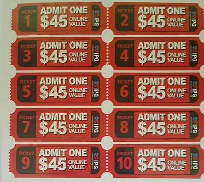 10 paintball tickets bargain