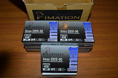 Imation box of 10 DDS-90 4mm (Black Watch) 4GB