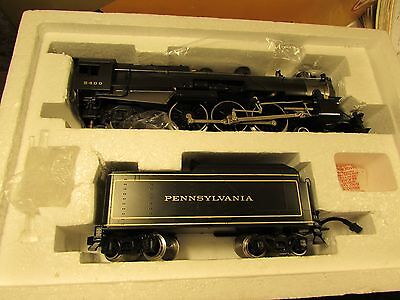 Williams O Scale Pennsylvania PRR Brass K4s 4-6-2 Pacific Steam Engine
