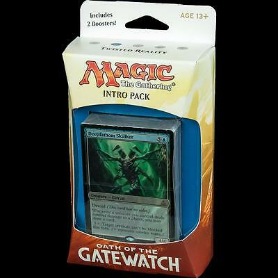Magic the Gathering Oath of the Gatewatch Intro Pack Twisted Reality