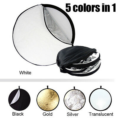 "5 in 1 43"" Collapsible Multi Photo Light Reflector Disc"