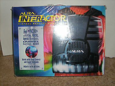 AURA INTERACTOR VIRTUAL GAME WEAR Any Game System / Computer - N.O.S.