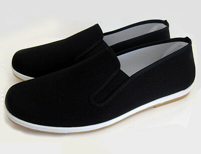 Fabric Shoes Slippers Kung Fu Sailing Sheet Classic with Rubber Sole gr.36-45