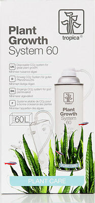 Tropica Plant Growth System 60 - CO2 Set Anlage Düngung