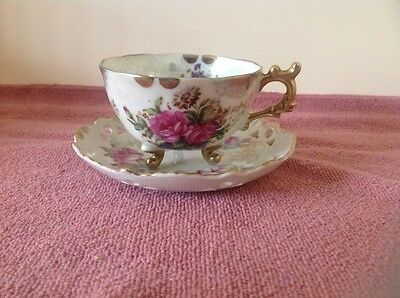 Japanese china cup and saucer