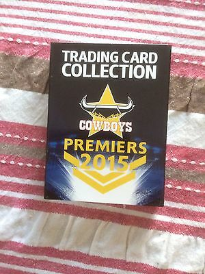 NRL North Queensland Cowboys 2015 Premiers Card Set