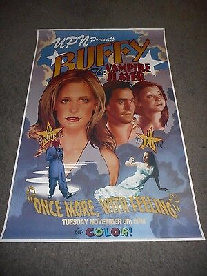 Buffy The Vampire Slayer - Once More With Feeling - Single-Sided Poster