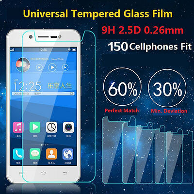 0.26mm Premium 9H+ Universal Tempered Glass Film Screen Protector 9H For Phones