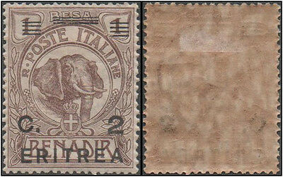 Eritrea stamps.1922 Italian Somaliland Postage Stamps Overprinted and Surcharged