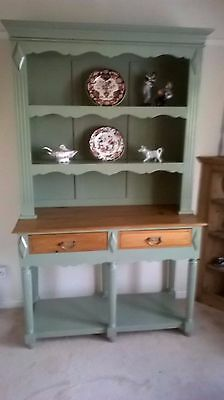 20Th Century Pine Pot Board Dresser