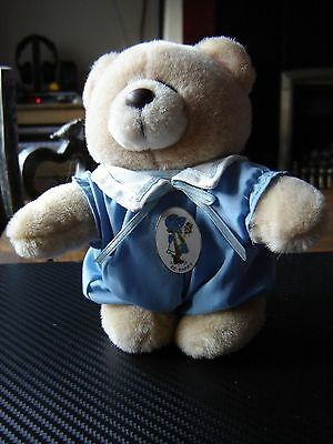 "Forever friends plush bear in sailor suit 6"" standing."