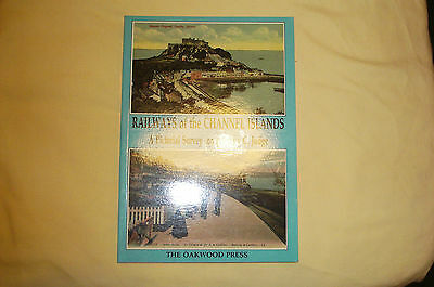 Railways of the Channel Islands portrait series PS1 Oakwood Press