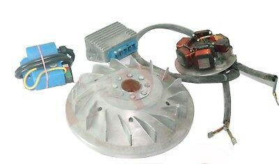 VESPA ELECTRONIC IGNITION FLYWHEEL STATOR KIT 12v 20mm CONE SMALL FRAME PK125 XL