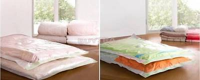 Large Space Saving Storage  Vacuum Bags Clothes Bedding Organiser Under Bed jx