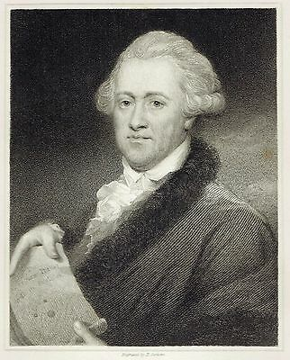Sir William Herschel - British Astronomer & Composer - Engraved after J. Russell