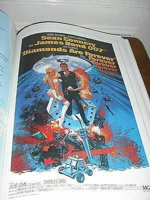 2 James Bond 007 Movie Books.1Poster 1 Guide From Dr. No,Goldfinger,Etc